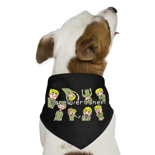 Many Faces of GameOverGamer Tee - Dog Bandana