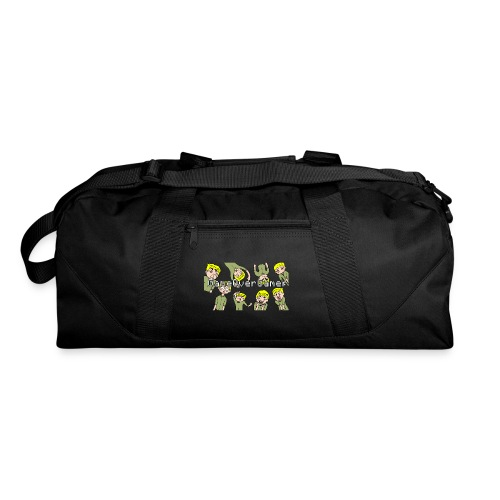 Many Faces of GameOverGamer Tee - Duffel Bag