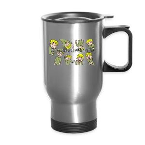 Many Faces of GameOverGamer Tee - Travel Mug