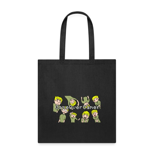Many Faces of GameOverGamer Tee - Tote Bag