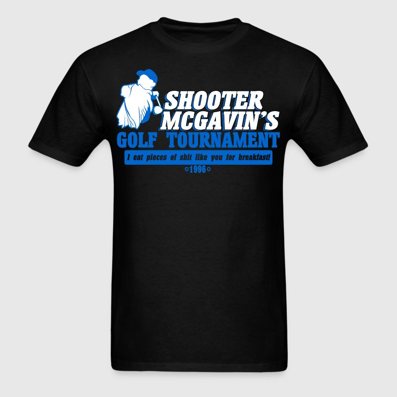 Shooter mcgavin's golf tournament - Men's T-Shirt