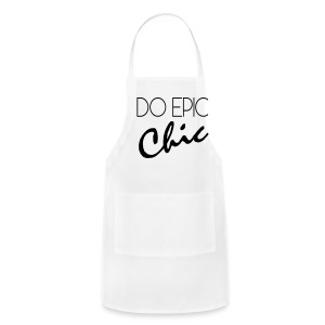 Long Sleeve Do Epic Chic T-shirt - Adjustable Apron