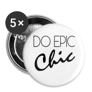 Long Sleeve Do Epic Chic T-shirt - Small Buttons
