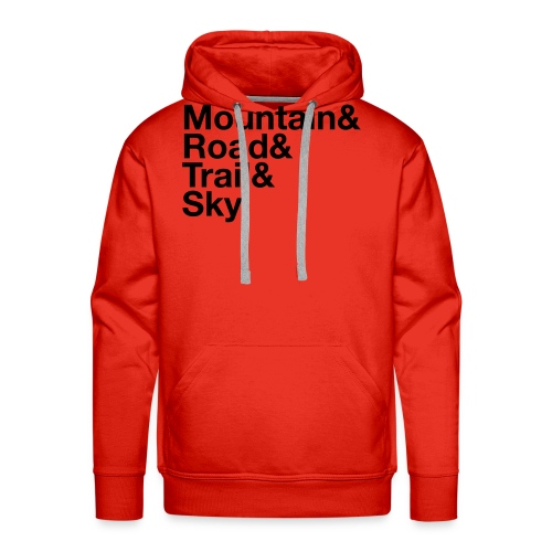 Women's MTGE Where We Run T-shirt - Men's Premium Hoodie
