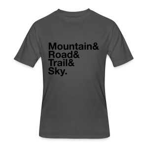 Men's MTGE Where We Run T-shirt - Men's 50/50 T-Shirt