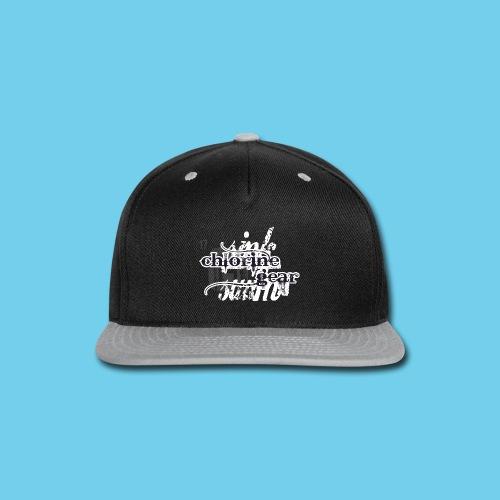 Sink or Swim Vintage- Front Logo, Rear Design- Youth Tee - Snap-back Baseball Cap