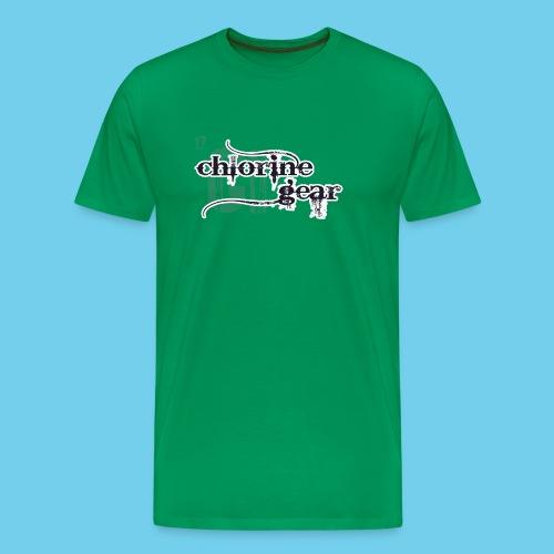 Sink or Swim Vintage- Front Logo, Rear Design- Youth Tee - Men's Premium T-Shirt
