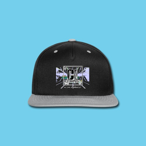Chlorine Gear Text branded- Kid's Tee - Snap-back Baseball Cap