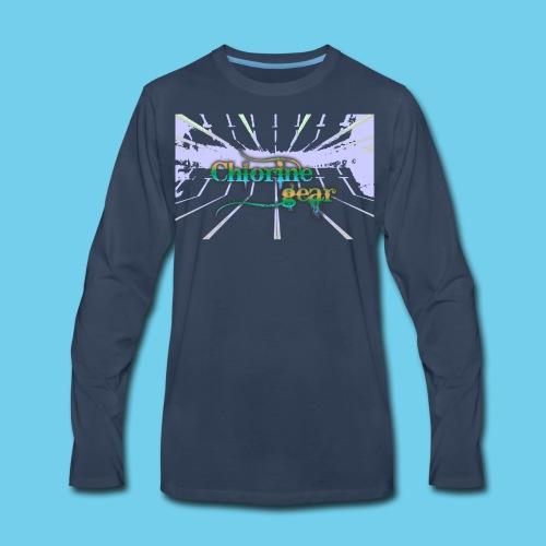 Chlorine Gear Text branded- Kid's Tee - Men's Premium Long Sleeve T-Shirt