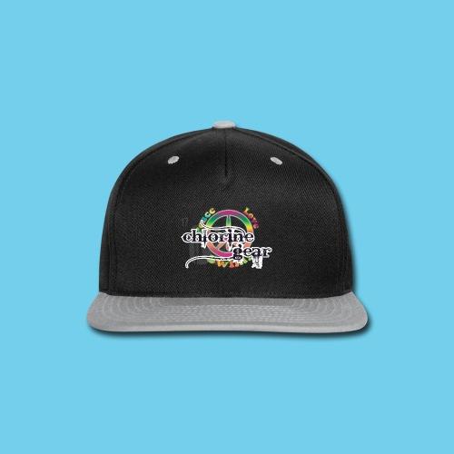 Peace, Love, Swim- Youth LS Tee - Snap-back Baseball Cap