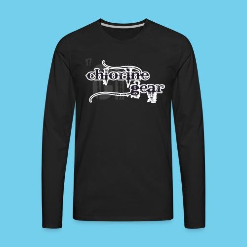 Peace, Love, Swim- Youth LS Tee - Men's Premium Long Sleeve T-Shirt