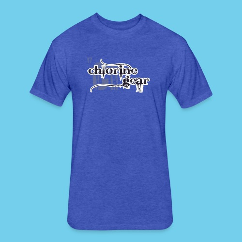 Swim Dad Superpower-Sweatshirt - Fitted Cotton/Poly T-Shirt by Next Level