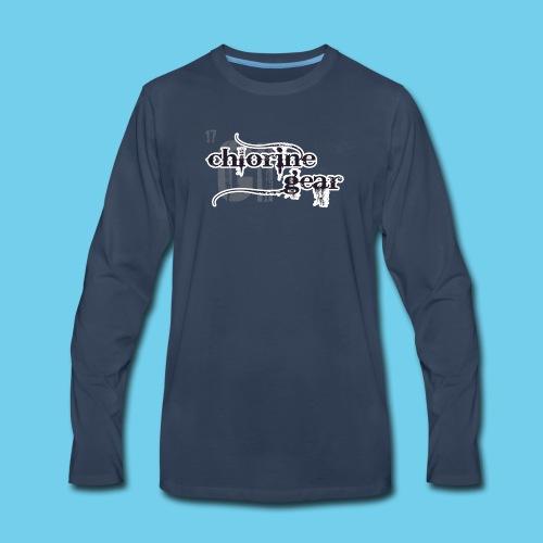 Swim Dad Superpower-Sweatshirt - Men's Premium Long Sleeve T-Shirt