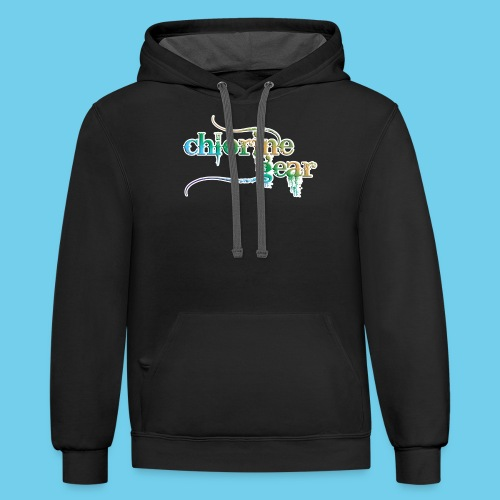 I Put the Style in Freestyle- Kid's Long Sleeve Tee - Contrast Hoodie