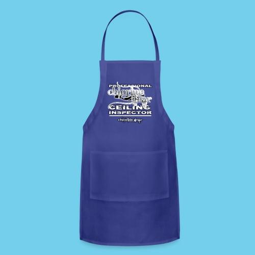 Professional Ceiling Inspector-Women's Hoodie - Adjustable Apron