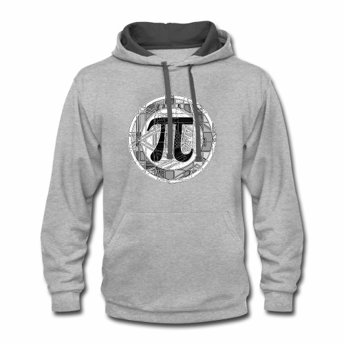 Pi Day - Contrast Hoodie