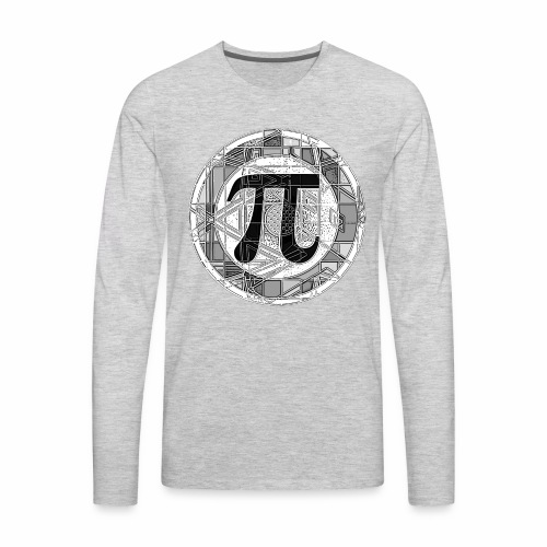 Pi Day - Men's Premium Long Sleeve T-Shirt