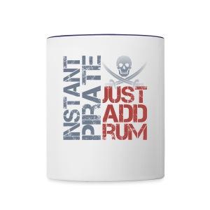 Instant Pirate - Contrast Coffee Mug