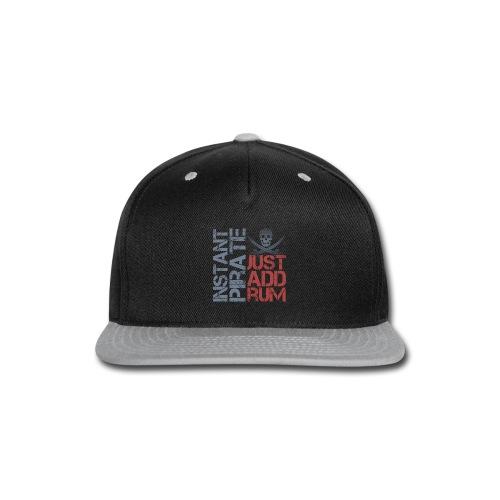 Instant Pirate - Snap-back Baseball Cap