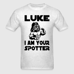 Funny Gym Shirt - Sports Luke - Men's T-Shirt