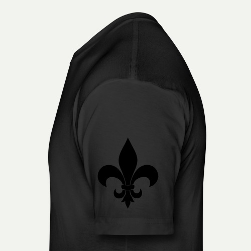 Fleur Dis Lis - Fitted Cotton/Poly T-Shirt by Next Level