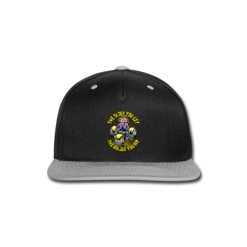 Granny Rip ATV - Snap-back Baseball Cap
