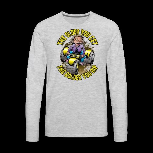 Granny Rip ATV - Men's Premium Long Sleeve T-Shirt
