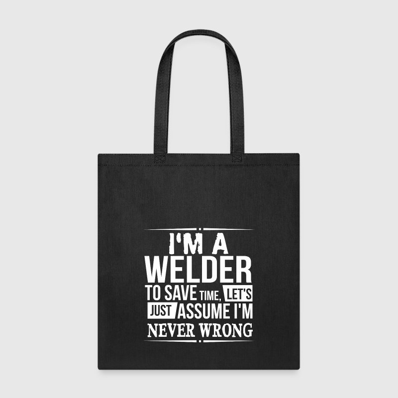 welder Bags & backpacks - Tote Bag