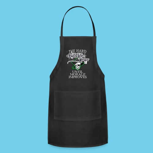 Hard sets will continue- Male Coach Tee - Adjustable Apron