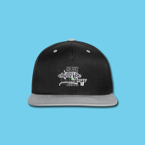 Hard sets will continue- Male Coach Tee - Snap-back Baseball Cap