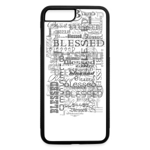 iPhone 5/5S Blessed Hard Case - iPhone 7 Plus/8 Plus Rubber Case