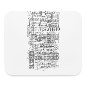 iPhone 5/5S Blessed Hard Case - Mouse pad Horizontal