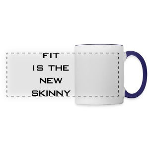 Fit is the new skinny | Womens tee - Panoramic Mug