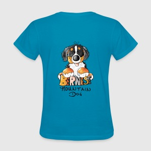 Cute Bernese Mountain Dog  Tanks - Women's T-Shirt