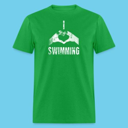 Dad's Swim Taxi, VINTAGE Youth Premium Tee - Men's T-Shirt