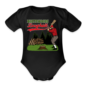Northwoods Longball - Short Sleeve Baby Bodysuit