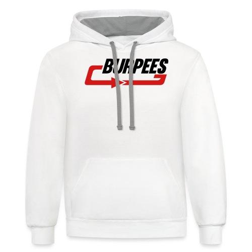 Burpees - Contrast Hoodie