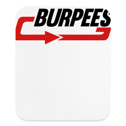 Burpees - Mouse pad Vertical