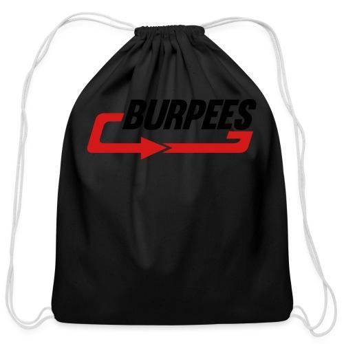 Burpees - Cotton Drawstring Bag
