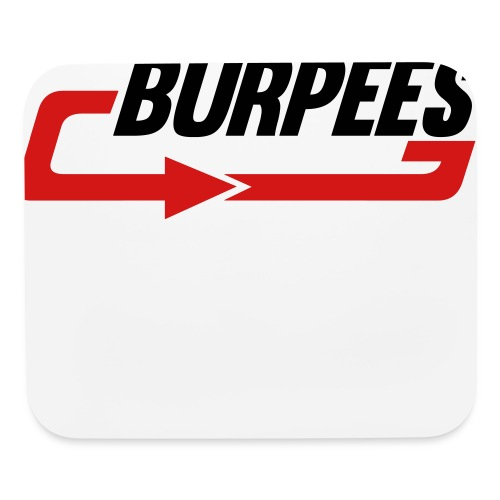 Burpees - Mouse pad Horizontal