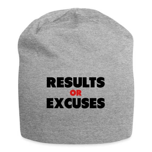 Results Or Excuses - Jersey Beanie