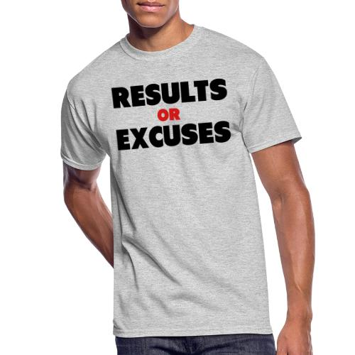 Results Or Excuses - Men's 50/50 T-Shirt