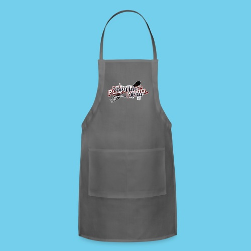 Eat Pasta, Swim Fasta- Women's LS Tee - Adjustable Apron