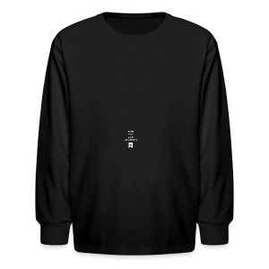 Enter Your Mind University Mug - Kids' Long Sleeve T-Shirt