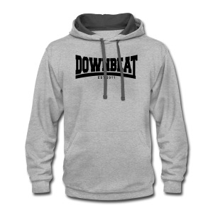 Downbeat Arch - Oxford - Contrast Hoodie