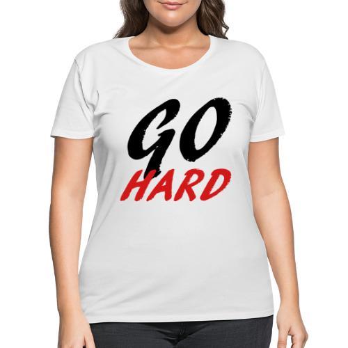 Go Hard - Women's Curvy T-Shirt