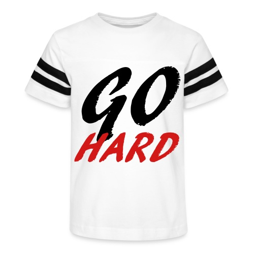 Go Hard - Kid's Vintage Sport T-Shirt