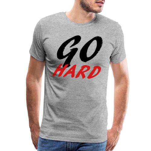 Go Hard - Men's Premium T-Shirt