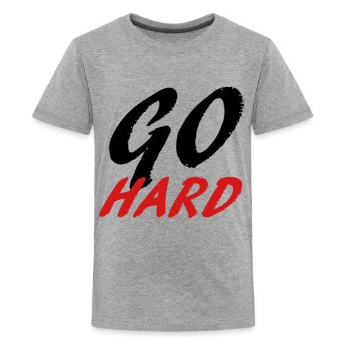 Go Hard - Kids' Premium T-Shirt