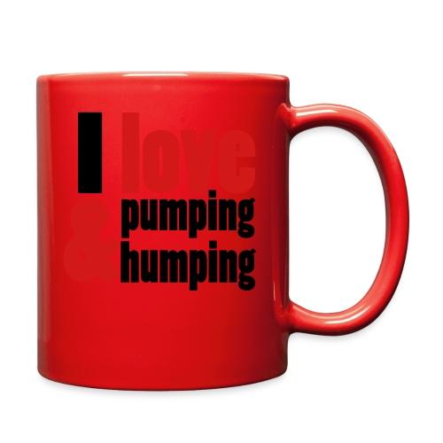 I Love Pumping - Full Color Mug